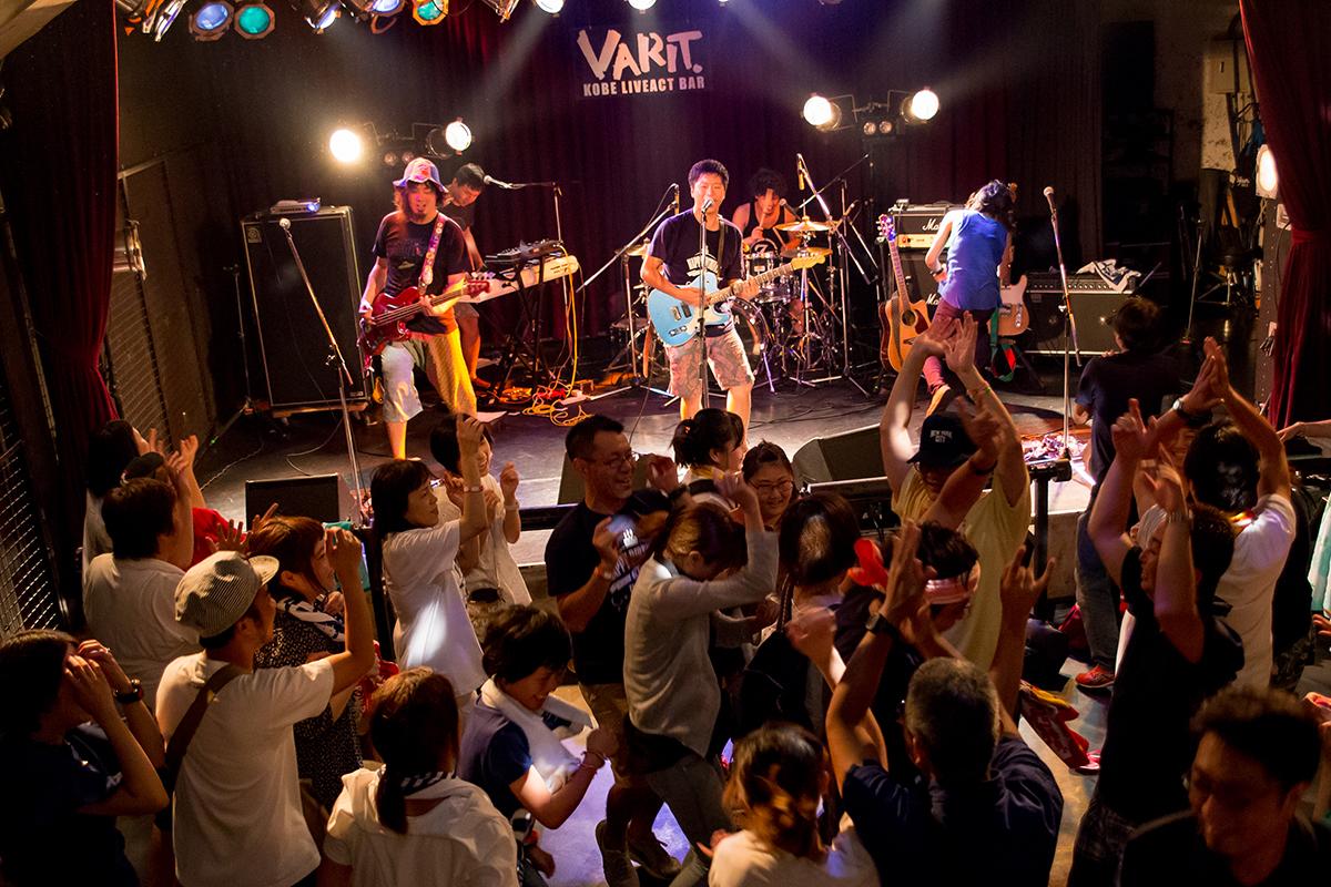 2015/07/30 イクローバンド 神戸VARIT