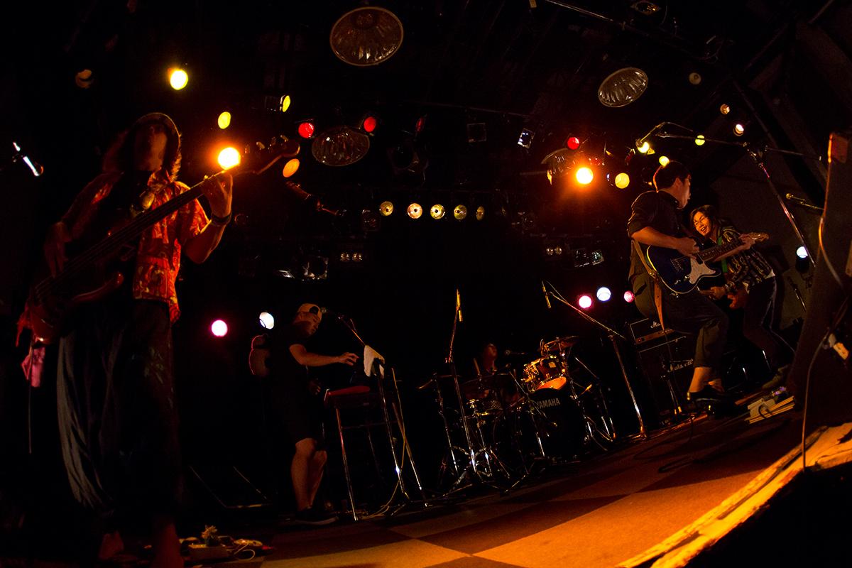 2015/08/24 イクローバンド OSAKA MUSE