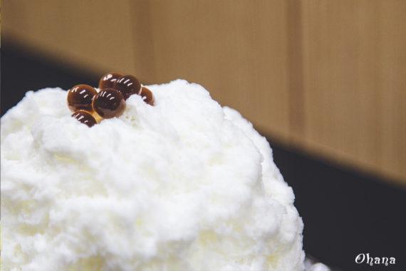 六花のココナッツミルクカキ氷